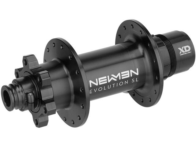NEWMEN MTB SL Moyeu arrière 12x157 mm J-Bend 6 boulons SRAM XD, black anodized/grey